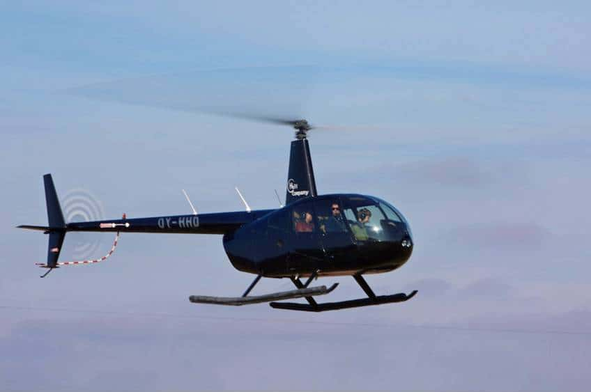 Helikoptertur for 2